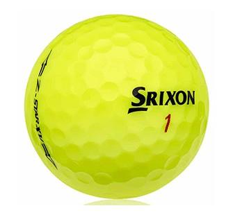 Zstar/x Amarilla Grado Super Perla - bolas golf recuperadas